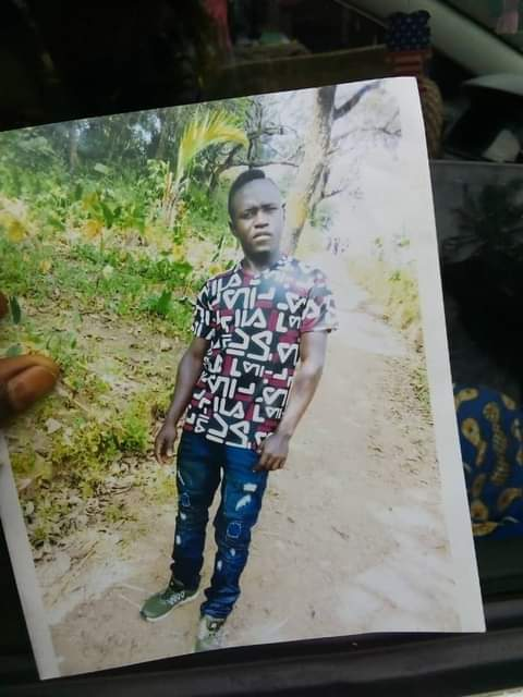 Petrol Seller in Buea. Picked up 29 Oct, 2020 Killed and dumped between Ekona and Muea